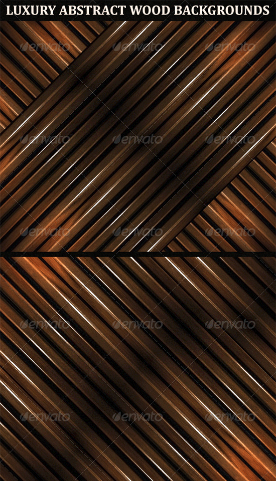 6 luxury abstract geometric wood backgrounds