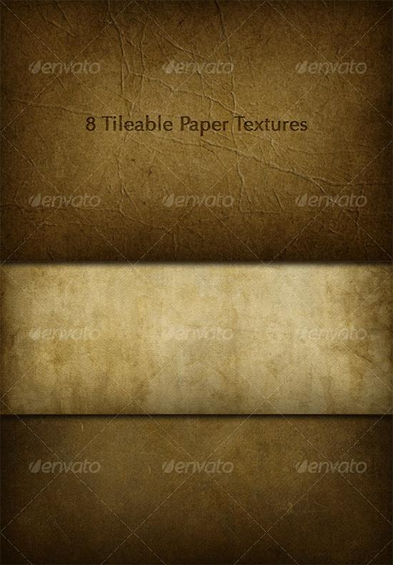 8 tileable paper texture