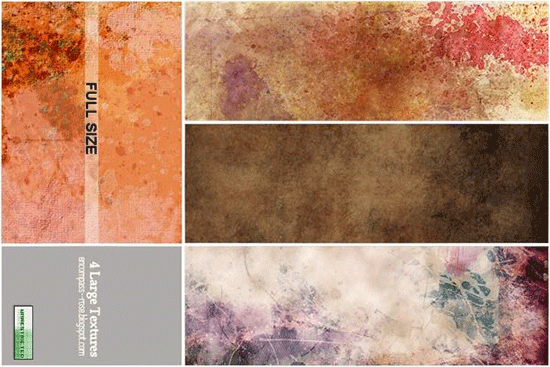 a4 grungy paper textures