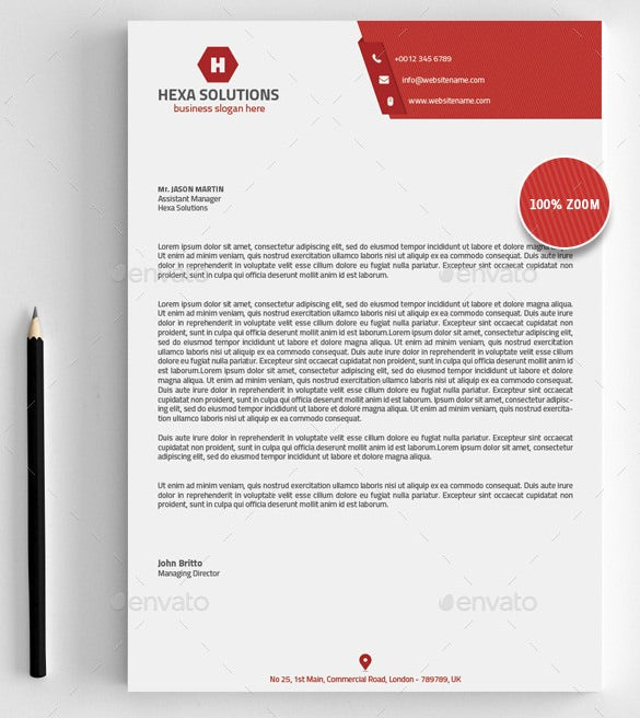 Business Letterhead Format Word Free Download free download – Word Letterhead Templates Free
