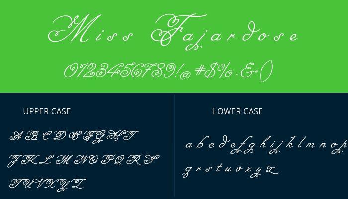 best cursive font