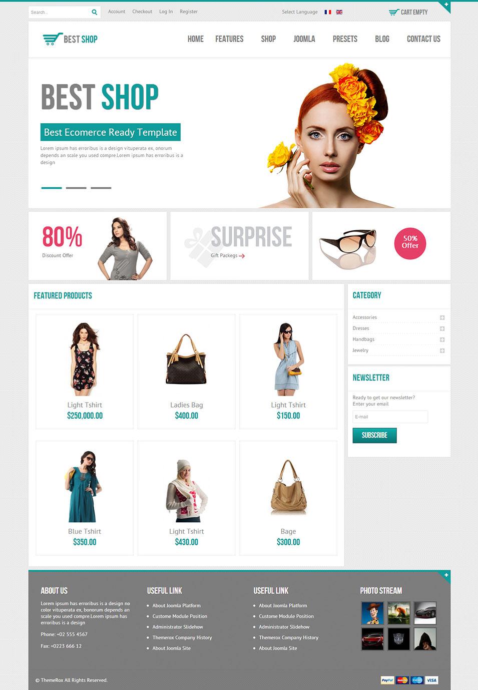 BestShop HTML5