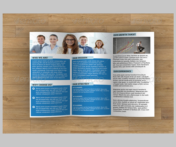 Business Trifold Brochure-V43