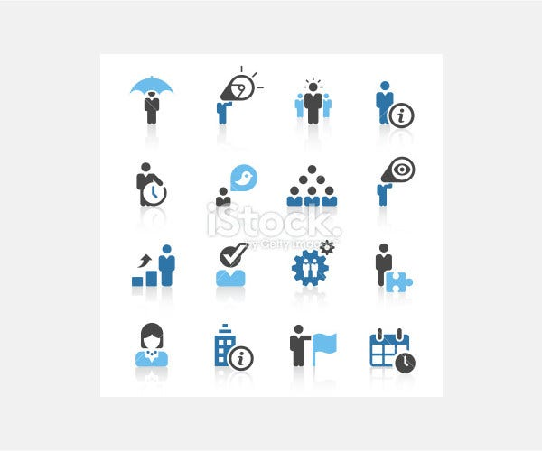 business metaphor icons