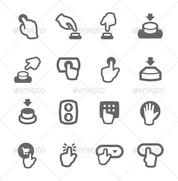 Buttons Icons