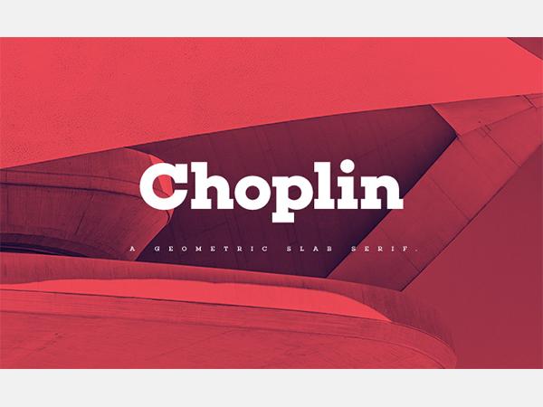 Choplin Free Font