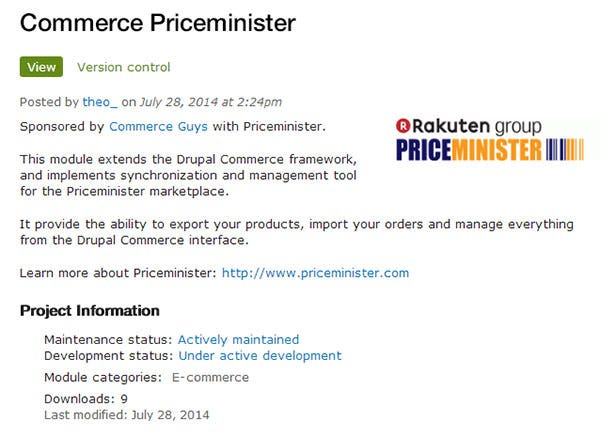 commerce priceminister