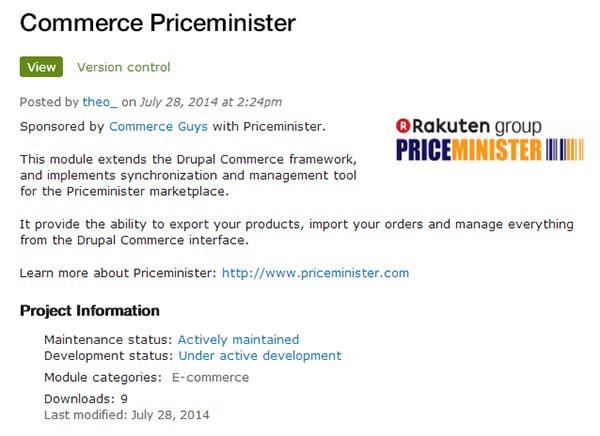 commerce priceminister