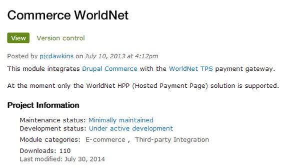 commerce worldnet