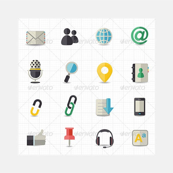 Communication and Internet Icons590