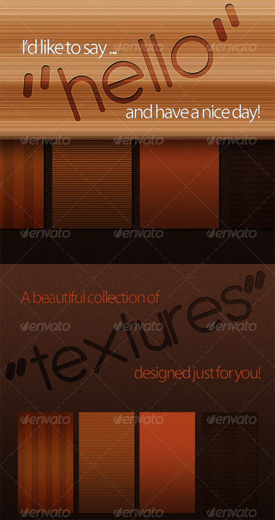 complementary tileable textures set 1