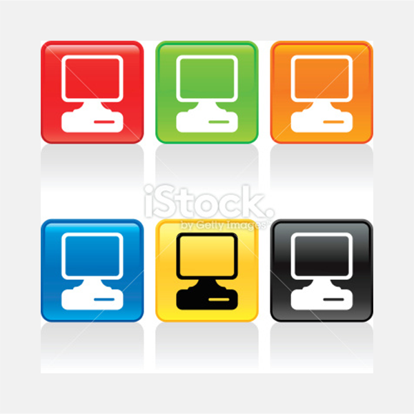 Computer Icon - Illustration