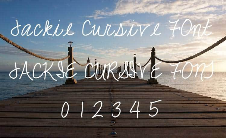 cool cursive font