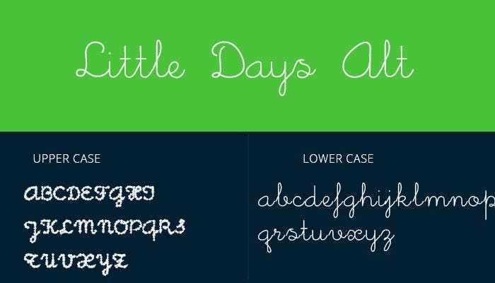 Cursive Design Fonts Free