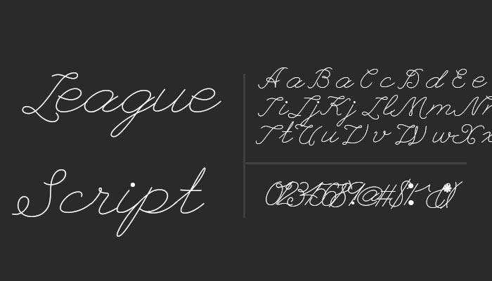 41 Free Cursive Fonts for Download | Free & Premium Templates