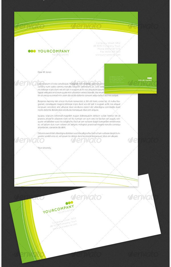 curvy green identity kit