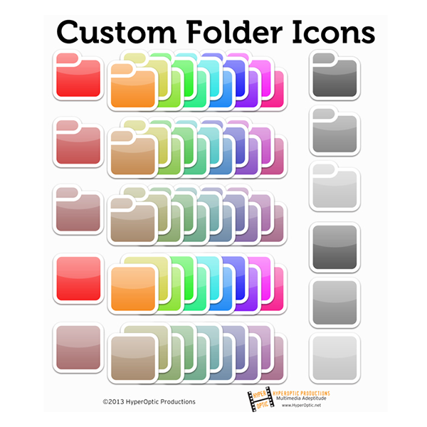 Custom Folder and Tile Icons