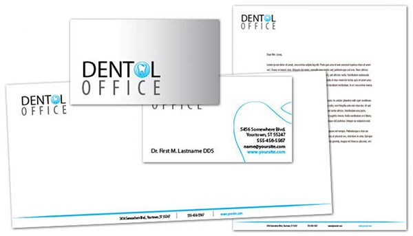 dentist dental office envelope