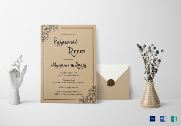 dinner invitation template