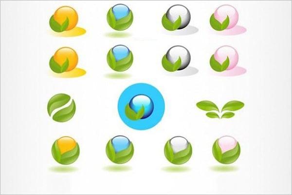 eco logo material templates