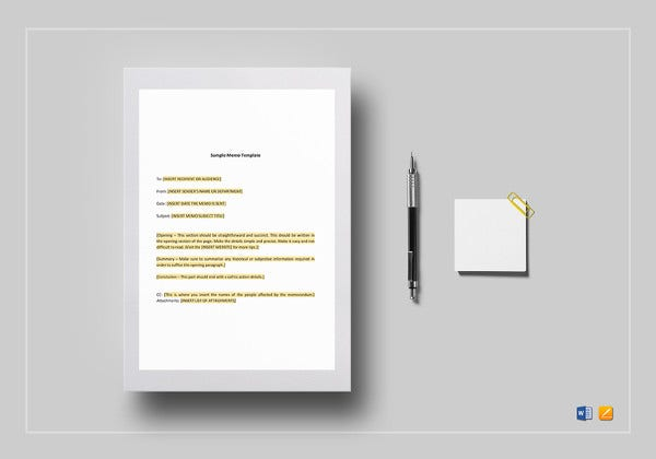 editable-memo-template