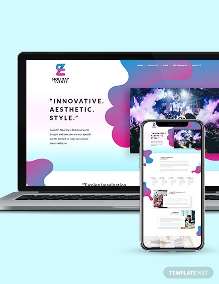 event planner landing page wordpress theme template 440 2