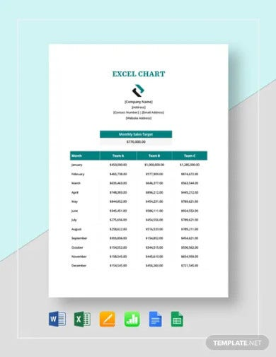 excel chart template1