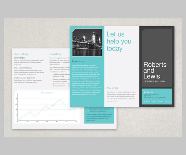 free brochures templates - 12 modern business brochure psd templates free