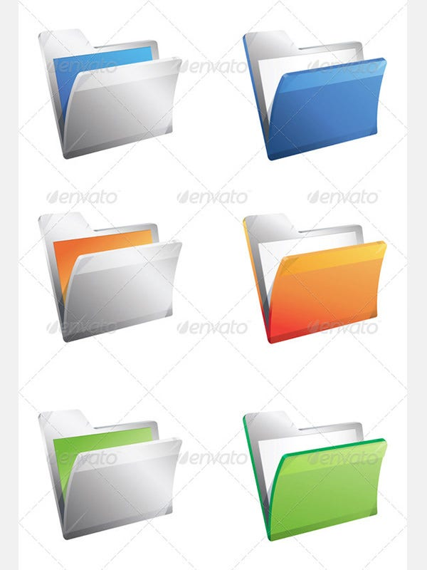 Folder Icon Illustration