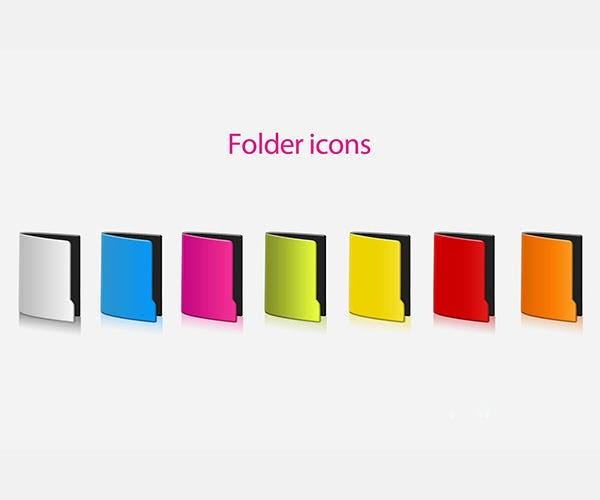 65 outstanding collection of folder icons free premium templates. Black Bedroom Furniture Sets. Home Design Ideas