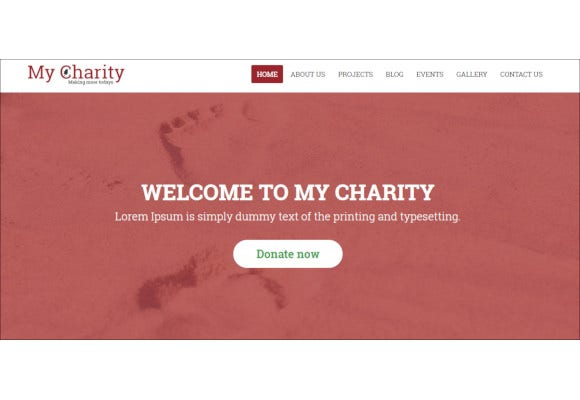 free-charity-html-template