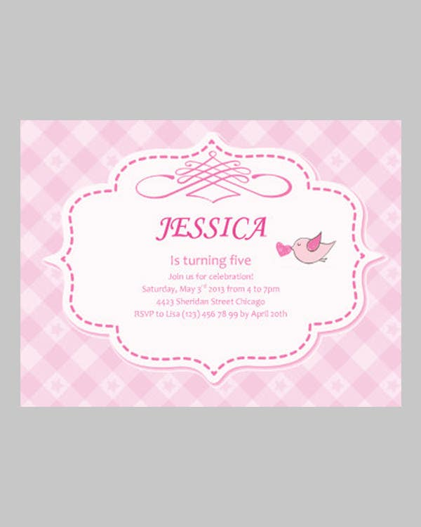 Free Invitation templates for kids unique and personal invite