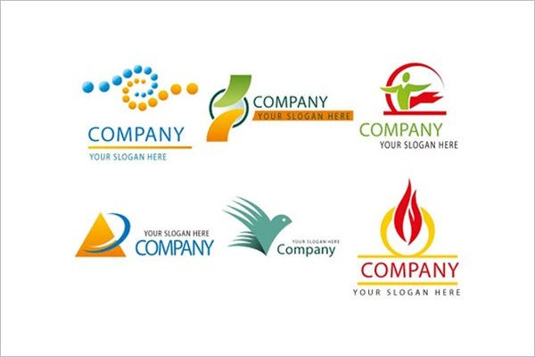 free logo template set for organizations logo design ideas free - Logo Design Ideas Free