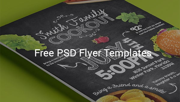 free psd flyer template designs
