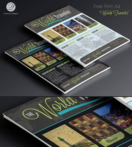 advertising design template 59 free psd format download free