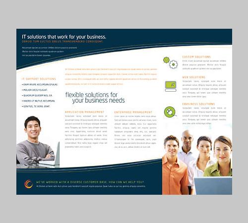 free tri fold brochure templates .