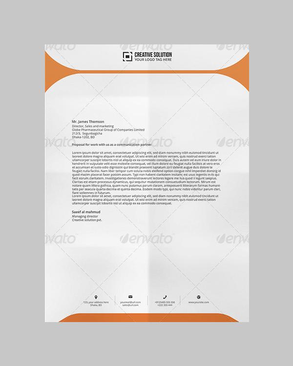 microsoft word letterhead templates free download