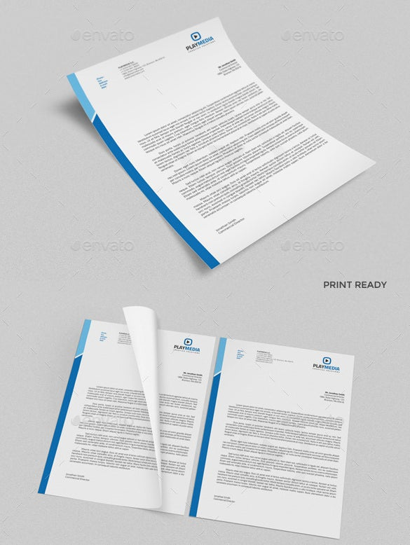 31 Word Letterhead Templates Free Samples Examples Oukasfo