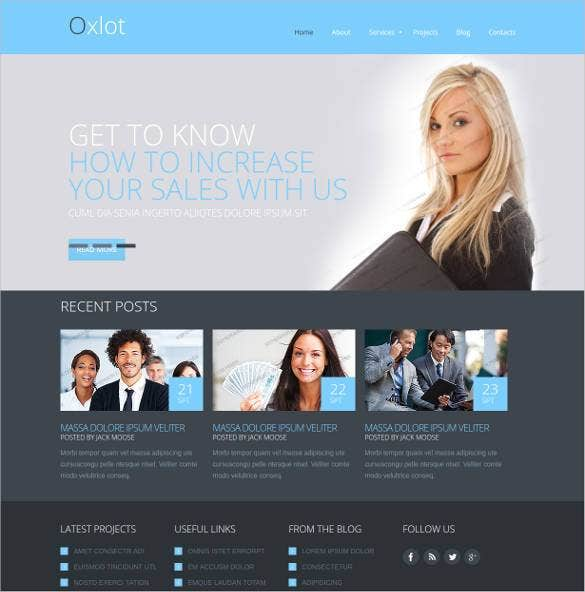 marketing agency responsive website template1