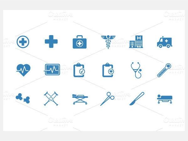 Medical & Health Vector Icons