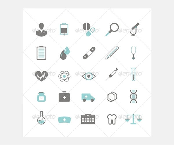 medical icons 80237