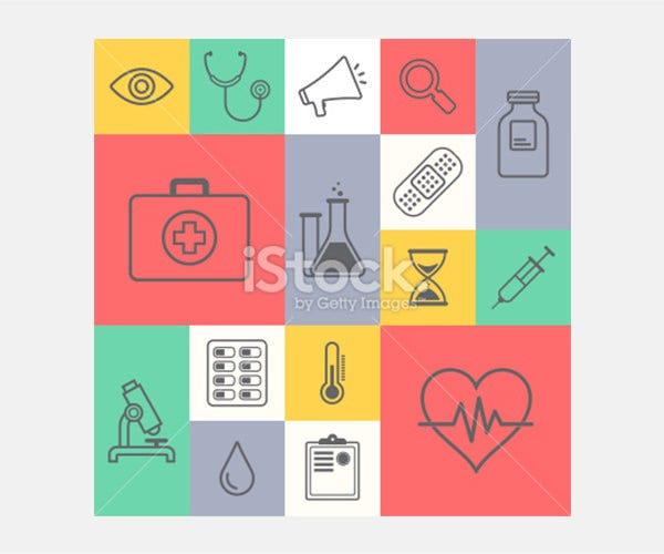Medicine & Healthcare - Illustration