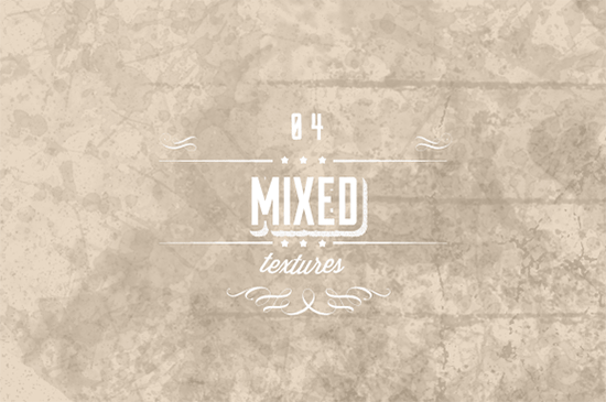 mixed texture set