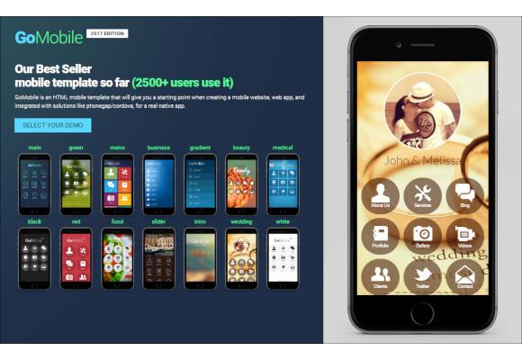 mobile app template