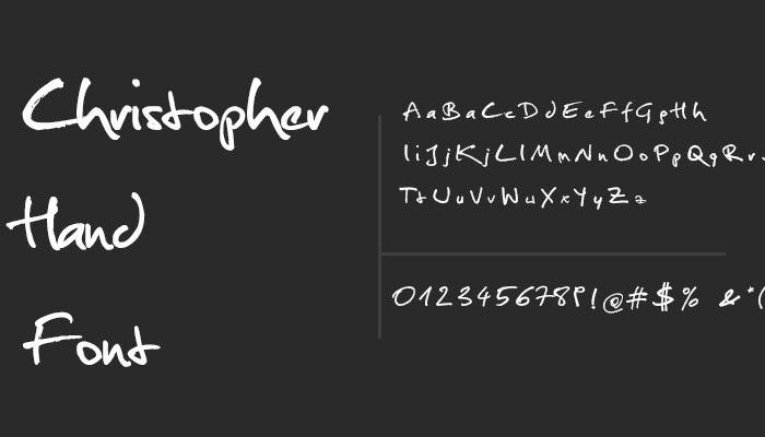 modern cursive font 2