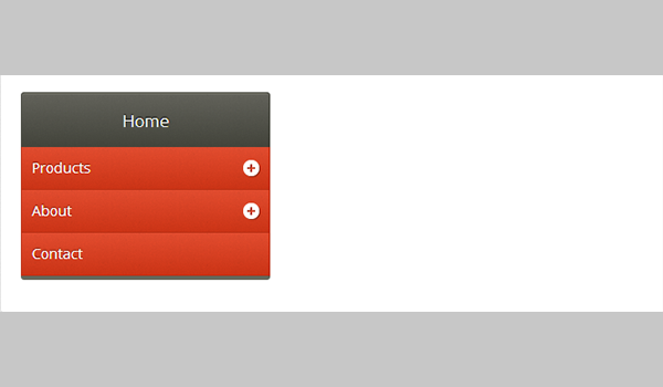Modern jQuery Accordion Menu