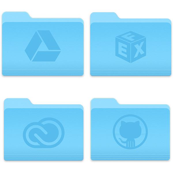 OS X Yosemite Folders