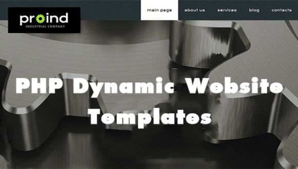 Php Dynamic Website Templates Amp Themes Free Amp Premium