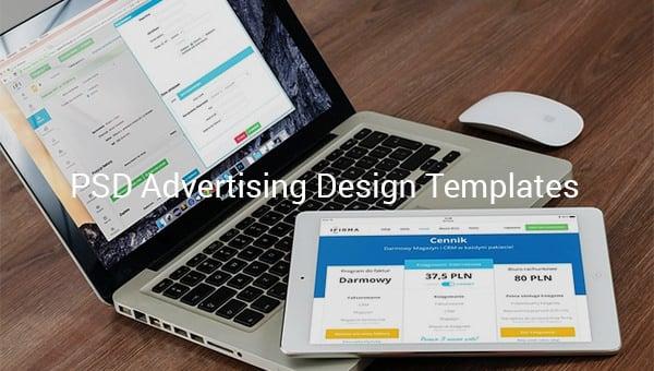 psd advertising design templates
