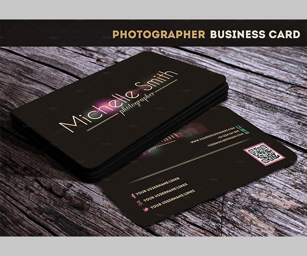 12 best cheap double sided business cards download free photographer business card reheart Gallery